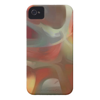 Extracto en colores pastel sanguíneo iPhone 4 Case-Mate carcasa