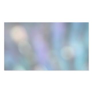 Extracto en colores pastel tarjeta de visita
