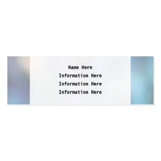 Extracto en colores pastel tarjetas de visita mini