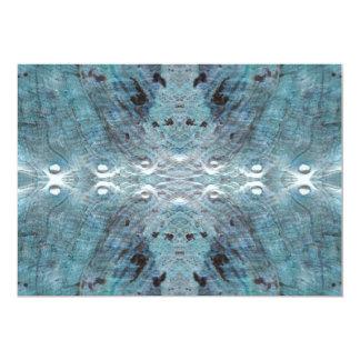 Extracto en trullo, con algunos bordes suaves invitación 12,7 x 17,8 cm