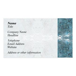 Extracto en trullo, con algunos bordes suaves tarjetas de visita