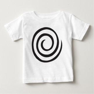 Extracto espiral camiseta de bebé