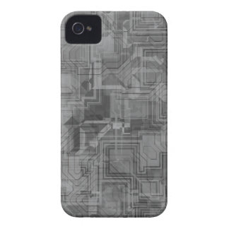 Extracto geométrico gris TPD Case-Mate iPhone 4 Carcasas