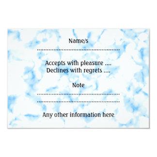 Extracto helado de la mirada invitación 8,9 x 12,7 cm