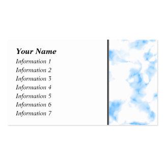 Extracto helado de la mirada tarjetas de visita
