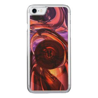 Extracto interno de las sensaciones funda para iPhone 8/7 de carved