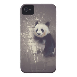 Extracto lindo de la panda funda para iPhone 4 de Case-Mate