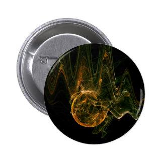 extracto moderno espiritual del oro del mundo chapa redonda de 5 cm