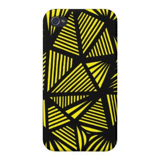 Extracto negro amarillo iPhone 4 coberturas