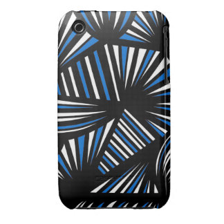 Extracto negro blanco azul Case-Mate iPhone 3 protectores
