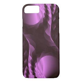 Extracto negro púrpura con clase funda para iPhone 8/7