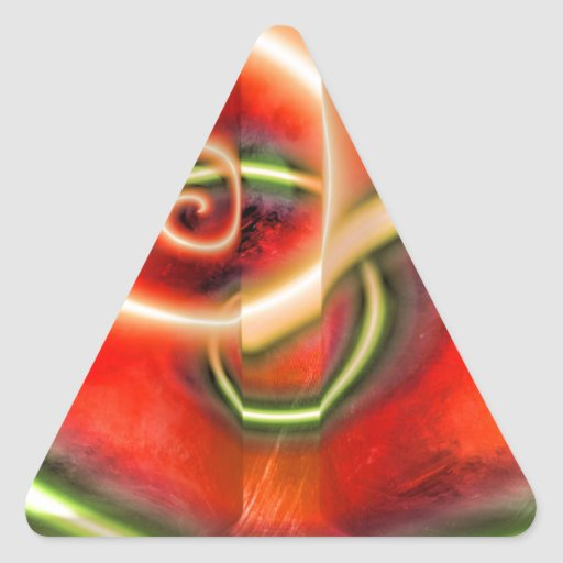 Extracto Calcomania De Trianguladas