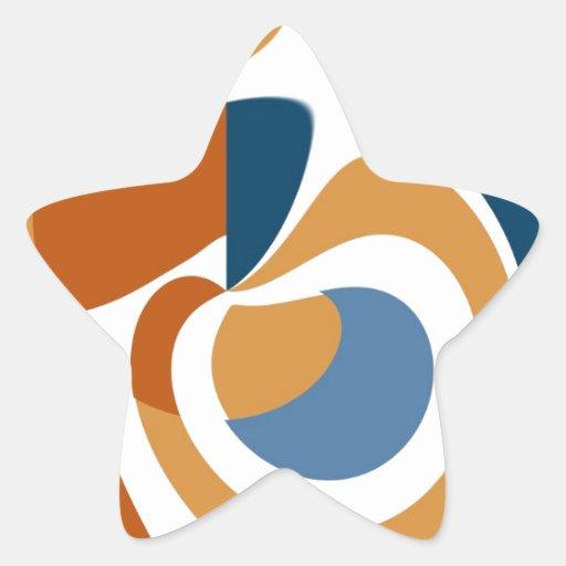 Extracto Calcomanía Forma De Estrellae