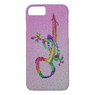 Extracto popular de la bola de discoteca rosada funda iPhone 7