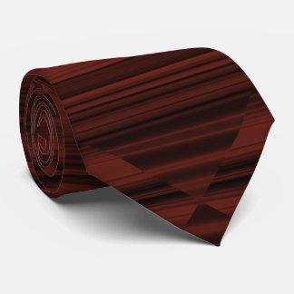 Extracto rojizo elegante original creativo corbata personalizada