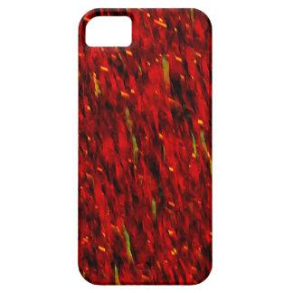 Extracto rojo de la cortina funda para iPhone SE/5/5s