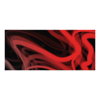 Extracto rojo fibroso tarjeta publicitaria personalizada