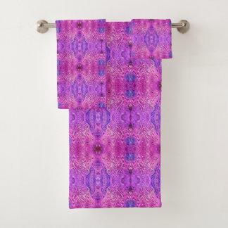 Extracto rosado y púrpura magenta