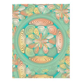 Extracto tropical del color folleto 21,6 x 28 cm