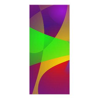 Extracto vivo del color del contraste agudo plantillas de lonas