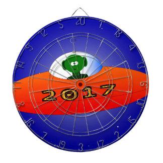 Extranjero de la Feliz Año Nuevo 2017 Diana