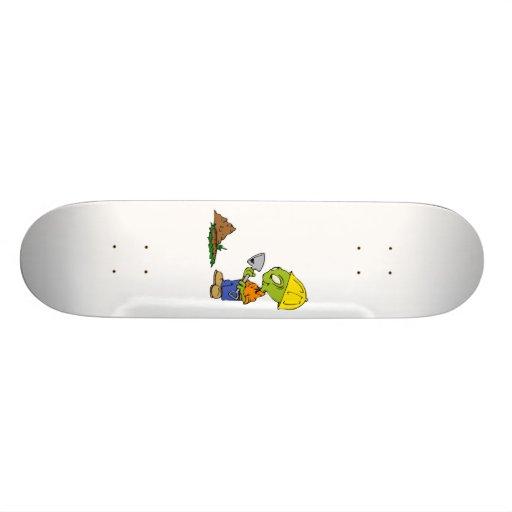 Extranjero del cavador de zanja tablas de skate