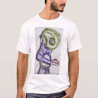 extranjero verde de la observación camiseta