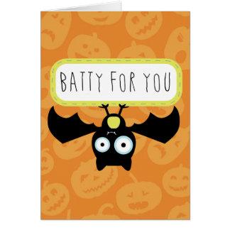 Extravagantemente para usted Halloween Tarjeta De Felicitación