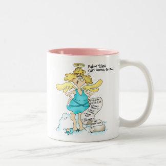 Extremidad #1 de la dieta de la taza: Tenga metas Taza De Café De Dos Colores