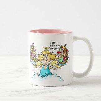 Extremidad #8 de la dieta de la taza: Coma las Taza De Café De Dos Colores