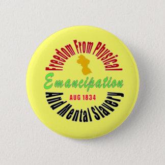 Extremo de la emancipación del botón de la