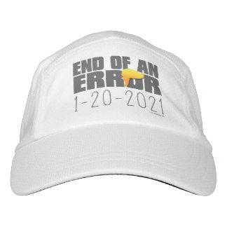 Extremo de un gorra del error