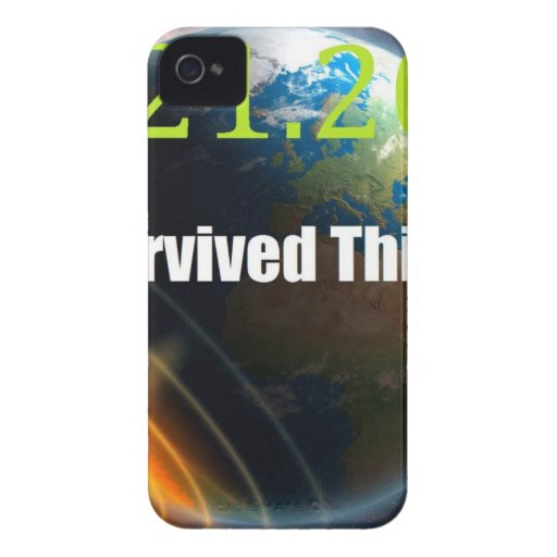 extremo del mundo 2012 iPhone 4 Case-Mate protectores