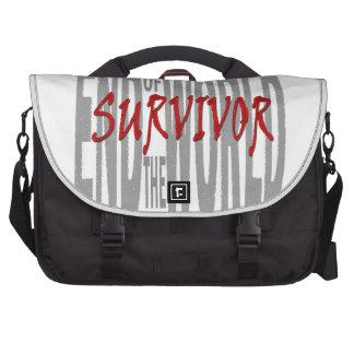 Extremo del superviviente del mundo bolsas de portatil
