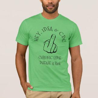Ey, camisa de la enfermedad de IDSA y de la CDC