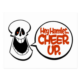 Ey Hamlet Anime para arriba Postal