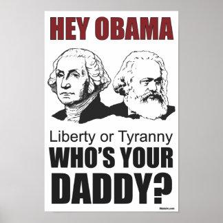 ¿Ey Obama quién es su papá? Póster