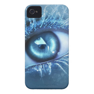 EYE.jpg AZUL iPhone 4 Case-Mate Carcasas