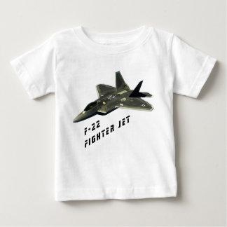 F-22 avión de combate, rapaz camiseta de bebé