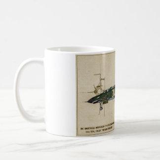 F-4 taza de café del fantasma II