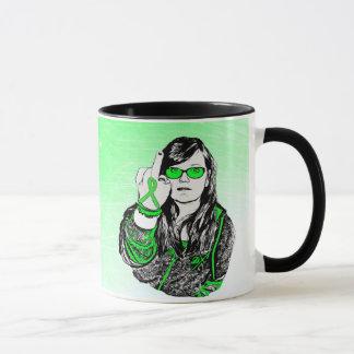 F de la taza de café de la enfermedad de Lyme