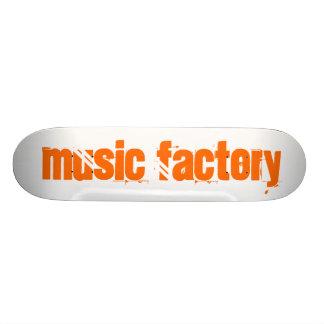 Fábrica de la música monopatín 20 cm