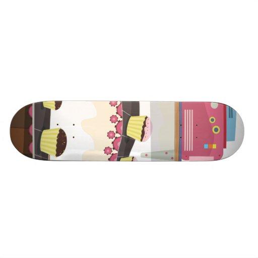 Fábrica de la torta tablas de skate