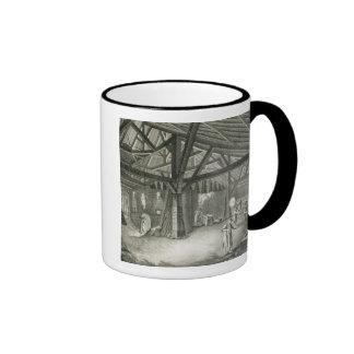 """Fábrica de la vidriería, de la """"enciclopedia"""" por  taza"""