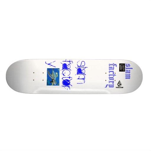 fábrica del golpe patines personalizados