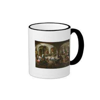 Fábrica en el d'Aubagne de la ruda, 1861 Tazas De Café