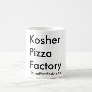 Fábrica kosher de la pizza taza básica blanca
