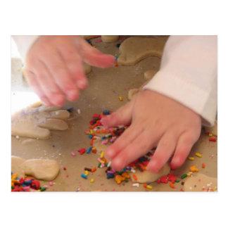 Fabricación de las galletas de azúcar postal