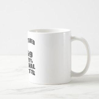 Fabricado en 1959 con las piezas de la original taza de café