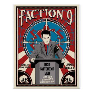 """""""Facción 9"""" poster nuevo"""
